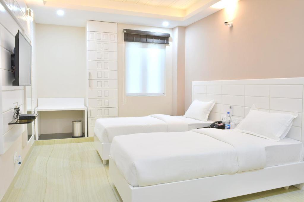 A room at Hotel Tara Palace Daryaganj