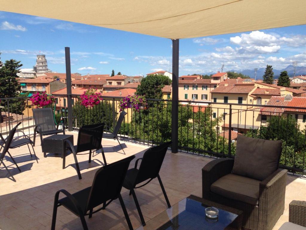 ホテル ディ ステファノにあるパティオまたは屋外エリア