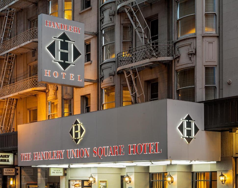 Handlery Union Sq Hotel Usa San Francisco Booking Com