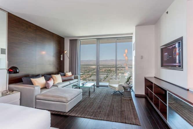 Condo Hotel Palms Place 51st Floor With Balcony Strip View Las