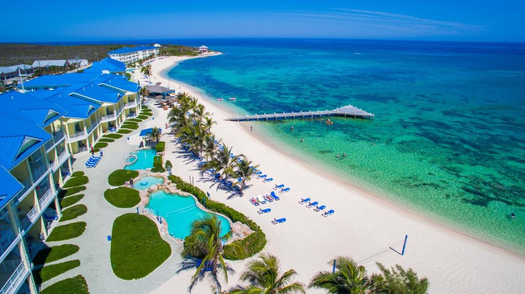 A bird's-eye view of Wyndham Reef Resort, Grand Cayman