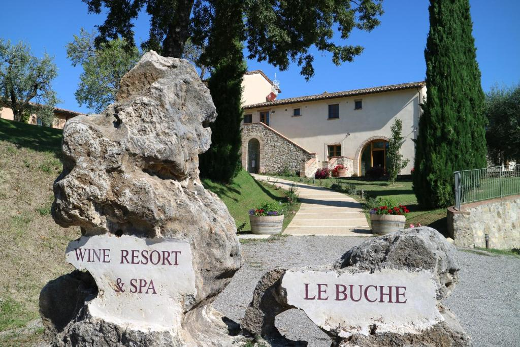 Le buche wine resort and spa