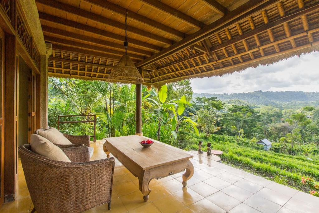 Terrasse ou espace extérieur de l'établissement Kubu Tani