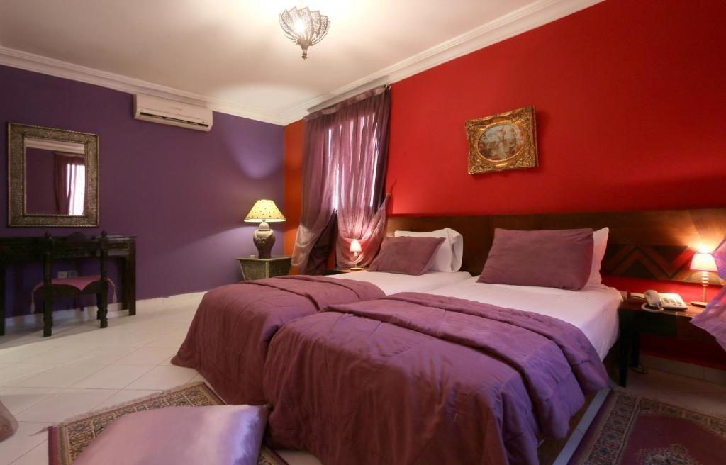 A room at Hotel Tafoukt