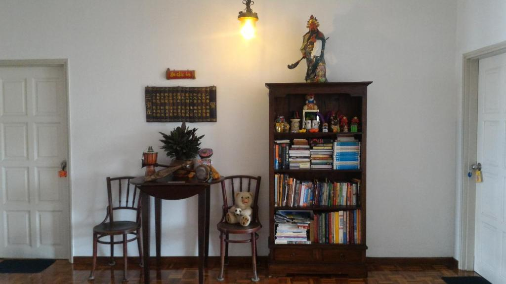 Biblioteca en el bed & breakfast