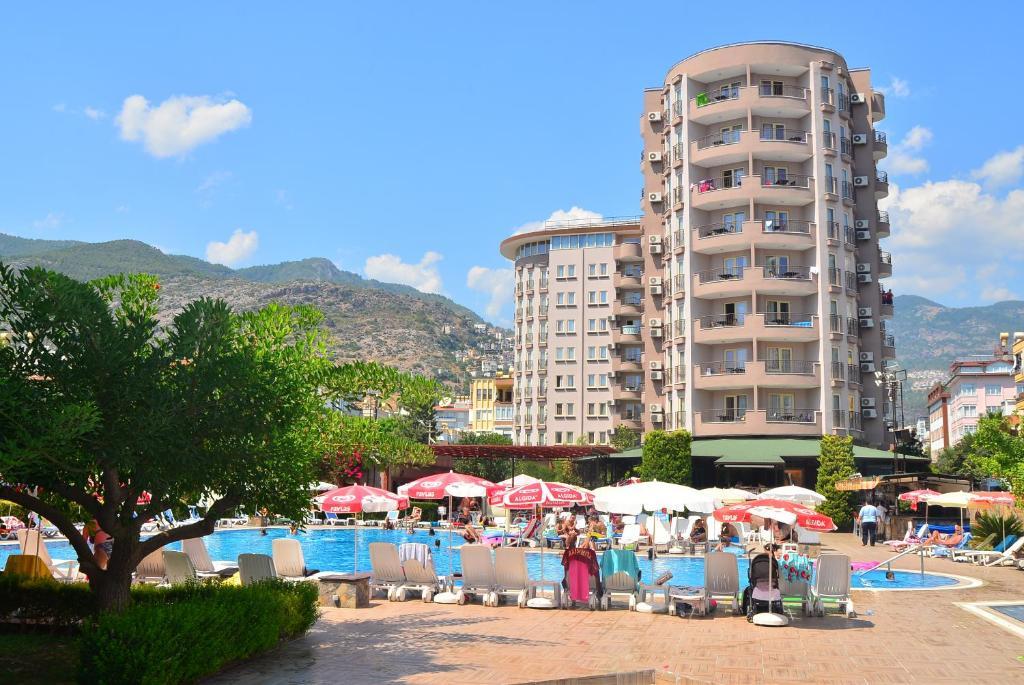 Club sidar apart hotel t rkiye alanya for Corse appart hotel
