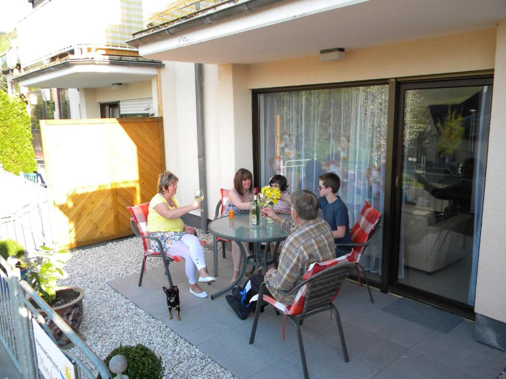A porch or other outdoor area at Mariola Crystina