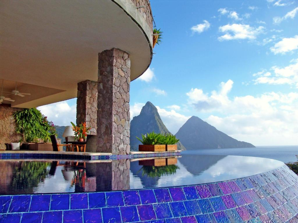 resort jade mountain, soufrière, st. lucia - booking