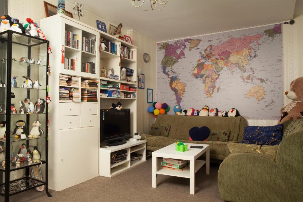 Лаундж или бар в Rooms 3 Penguins