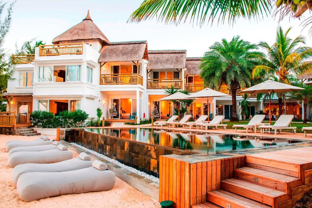 vol et hotel pour ile maurice