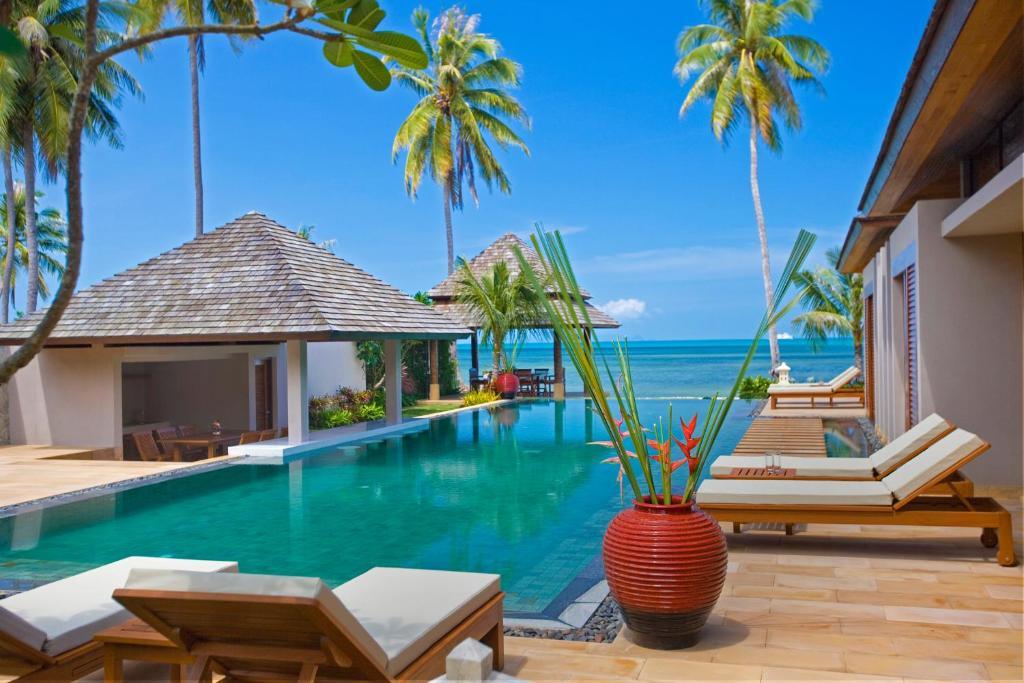 Gallery image of this property  +46 photos. Close . Samara Luxury Beachfront  Villa