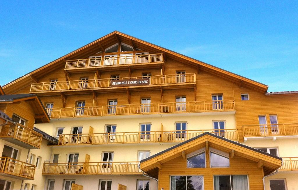 Appart 39 h tel ours blanc france les deux alpes for Appart hotel alpes