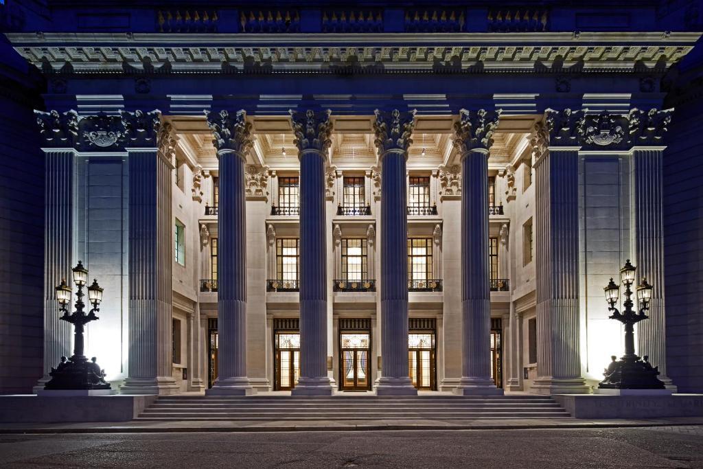 The Four Seasons Hotel London at Ten Trinity Square.
