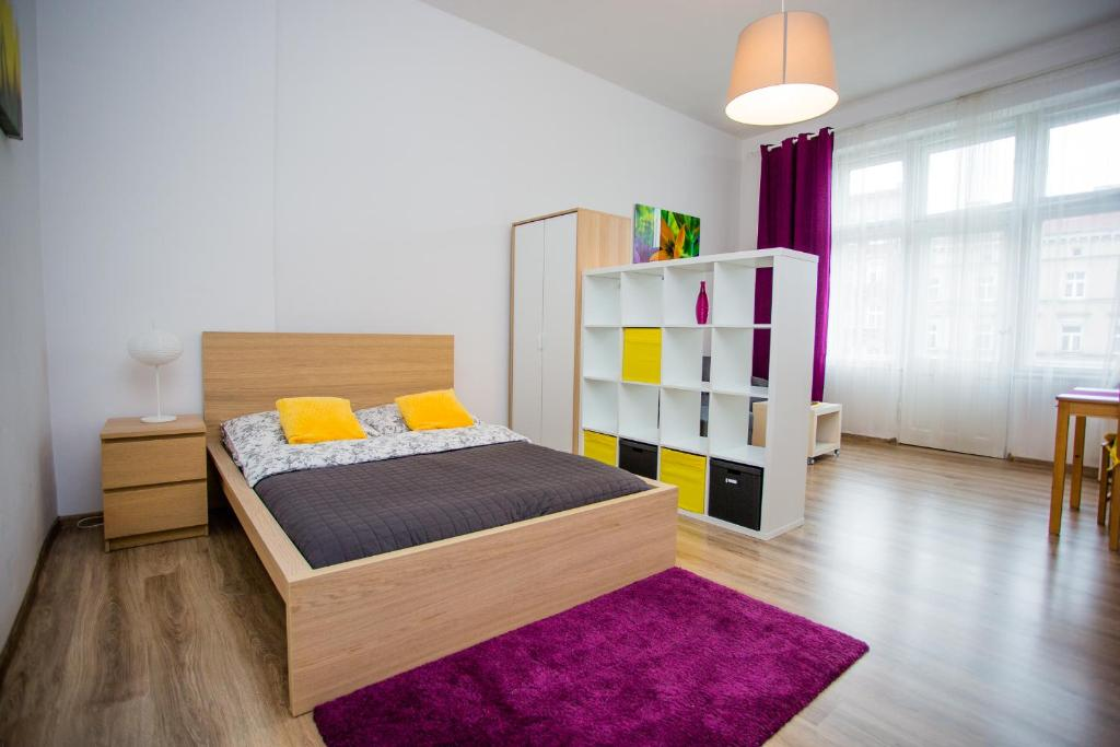 A room at Colourful Apartment