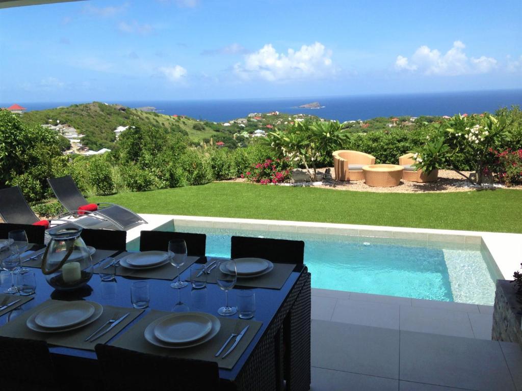 villa njoy saint barth lemy gustavia. Black Bedroom Furniture Sets. Home Design Ideas
