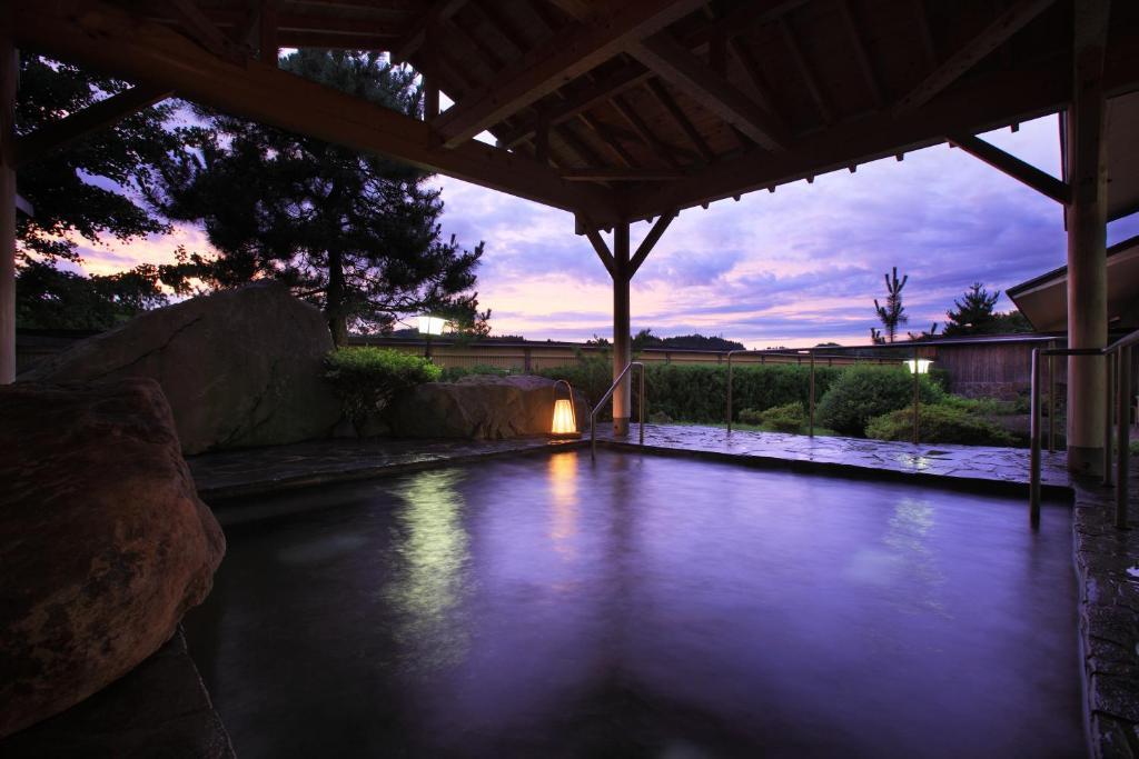 ポイント1.100年以上前から湧く自慢の温泉
