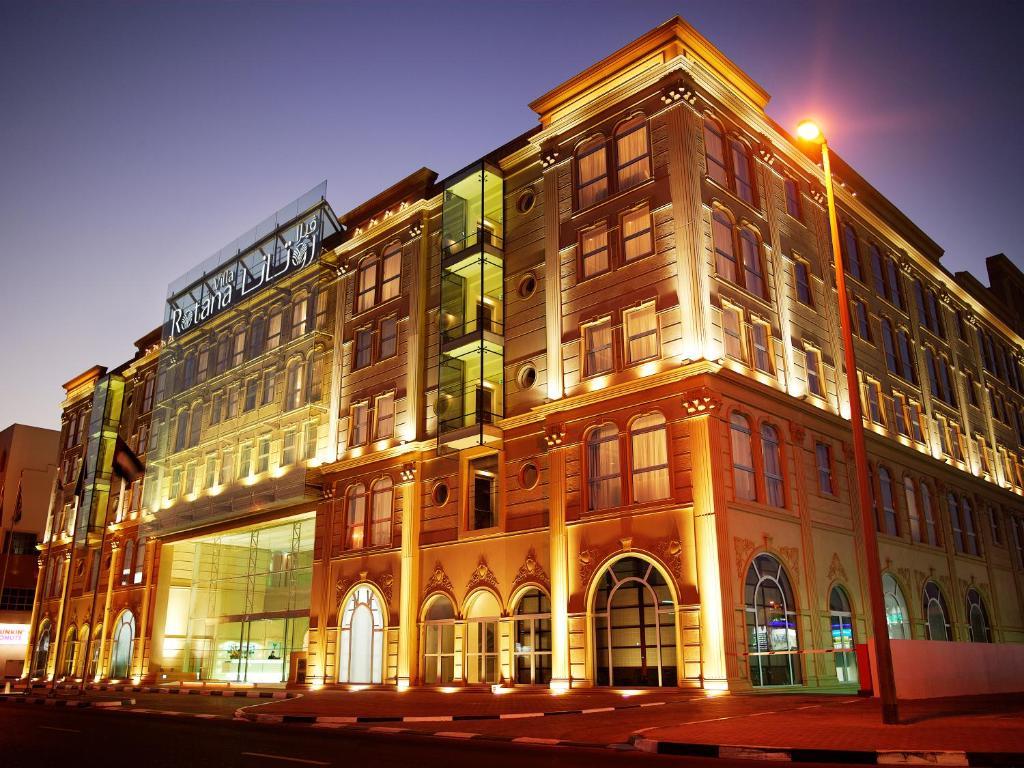 Location Of Villa Rotana Dubai