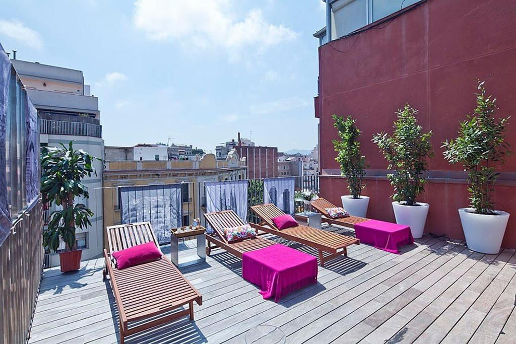Apartment Barcelona Rentals - Pool Terrace in City Center foto