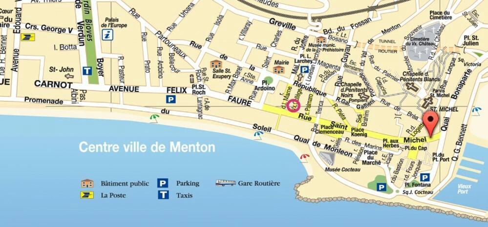 Apartment Piedaterre Saint Michel Menton France Bookingcom
