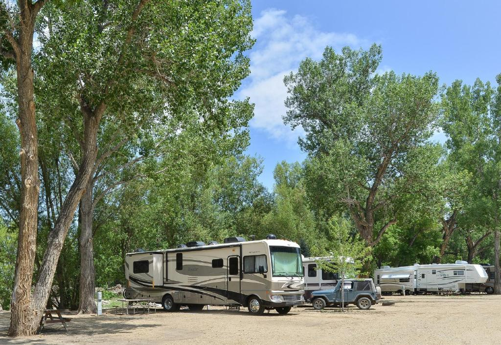 Campground Riverview RV Park Loveland CO