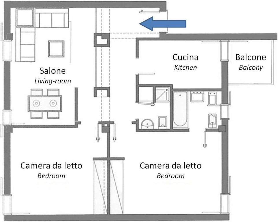 Case vacanze roma dal mare lido di ostia prezzi for Piantine case