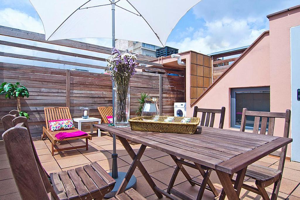 Apartment Barcelona Rentals - Gracia Pool Apartments Center imagen