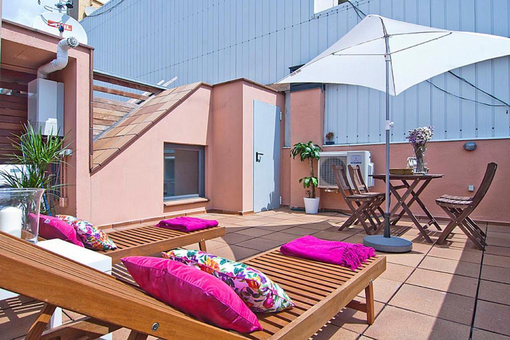 Apartment Barcelona Rentals - Gracia Pool Apartments Center foto