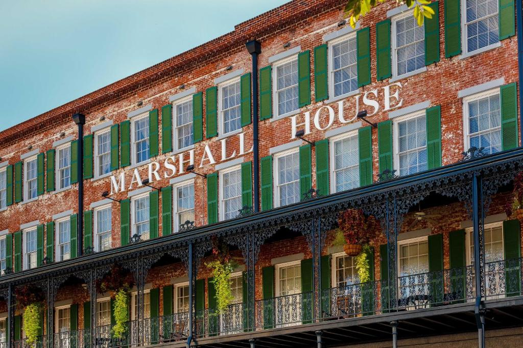 hotel the marshall house savannah ga