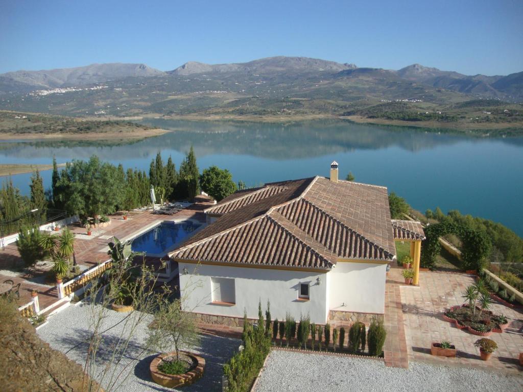 A bird's-eye view of Casa Rocío&Paloma