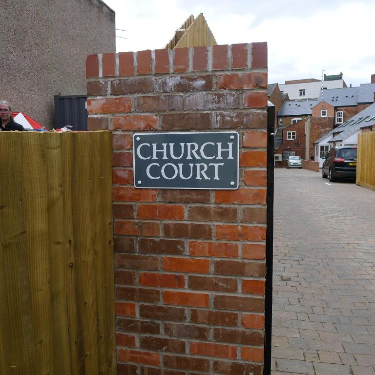 The Courts Apartments: Church Court Apartments, Rugby