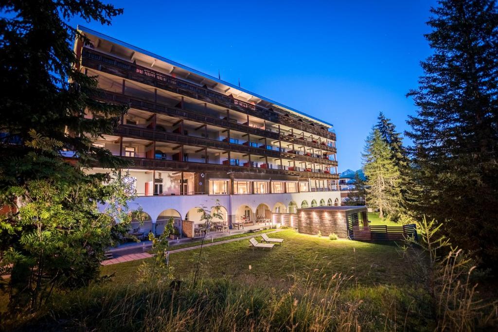 En have udenfor Blatter's Bellavista Hotel
