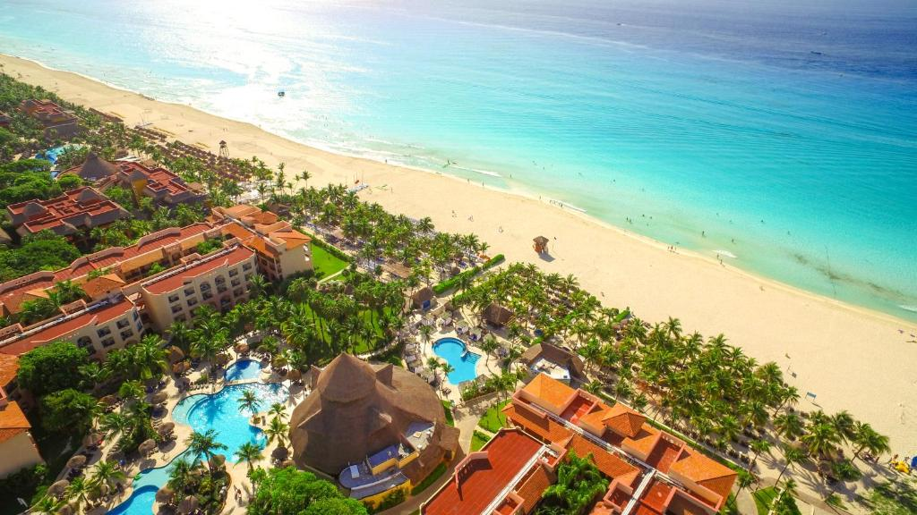 A bird's-eye view of Sandos Playacar Select Club Adults Only All Inclusive