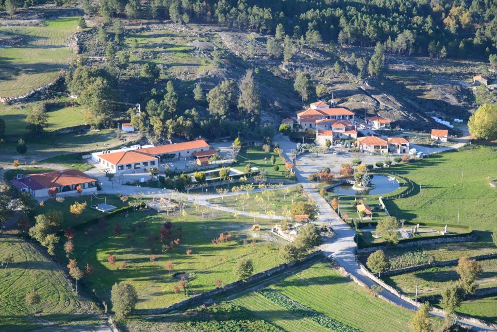 A bird's-eye view of Quinta de Santo Estêvão