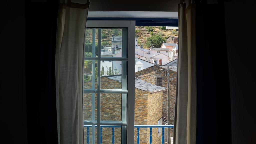 A balcony or terrace at Casa Amorim