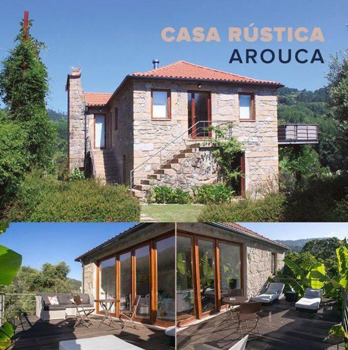 Casa de f rias casa r stica arouca portugal arouca for Casa moderna rustica