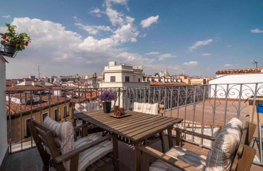 Ferienwohnung Penthouse Calle Mayor Spanien Madrid Bookingcom