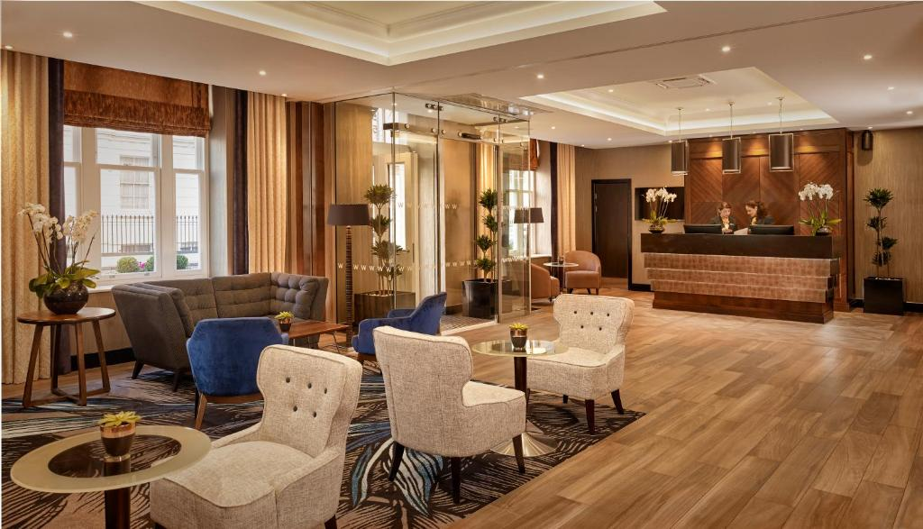 The lobby or reception area at The Westbourne Hyde Park