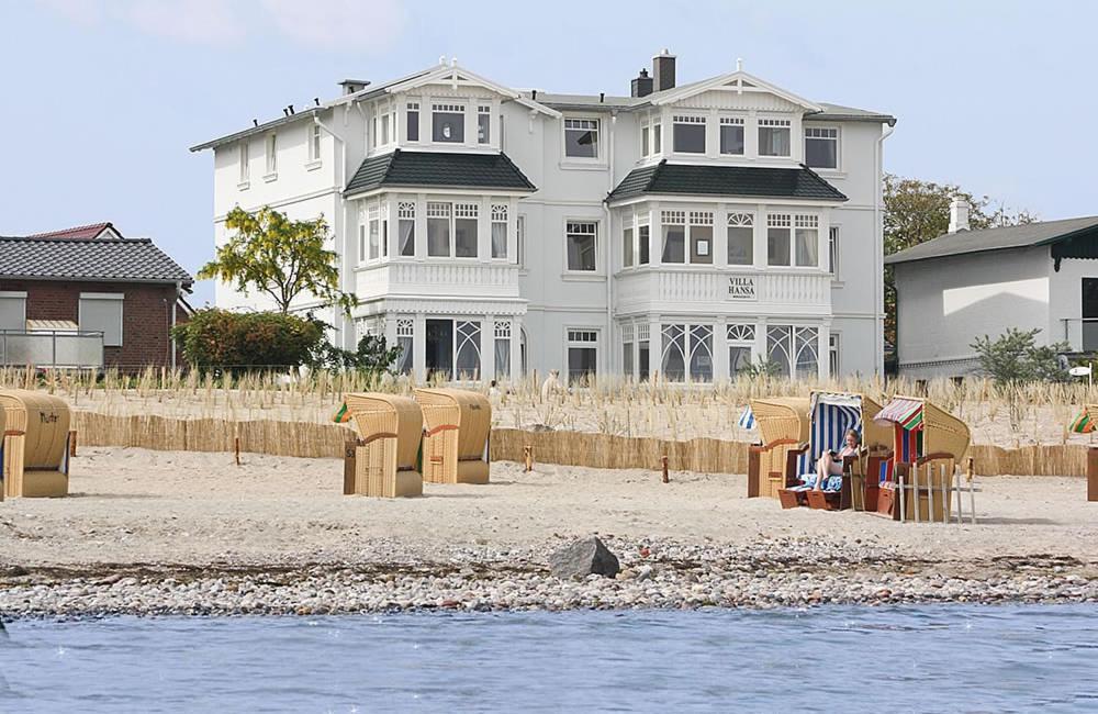 Villa hansa am meer deutschland timmendorfer strand for Hotel in warnemunde direkt am strand