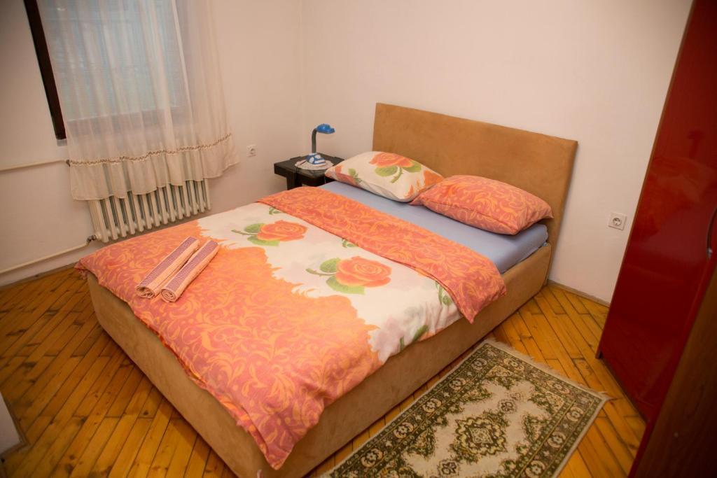 Postelja oz. postelje v sobi nastanitve Apartments Bobito
