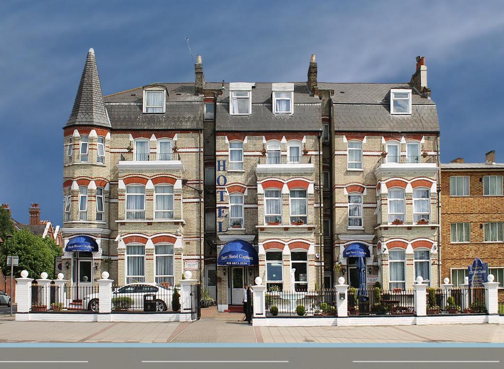 Euro hotel clapham london uk for Reservation hotel