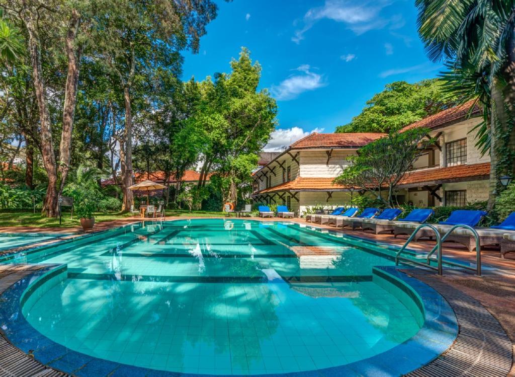 The swimming pool at or near Southern Sun Mayfair Nairobi