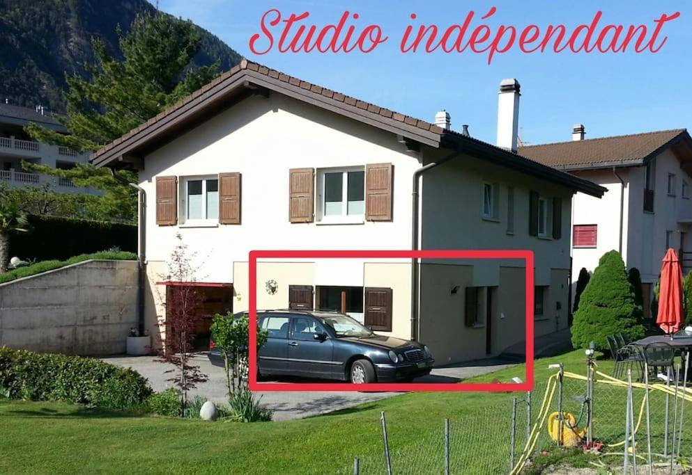 Apartamento Studio indépendant à Grône (Suíça Grône ...