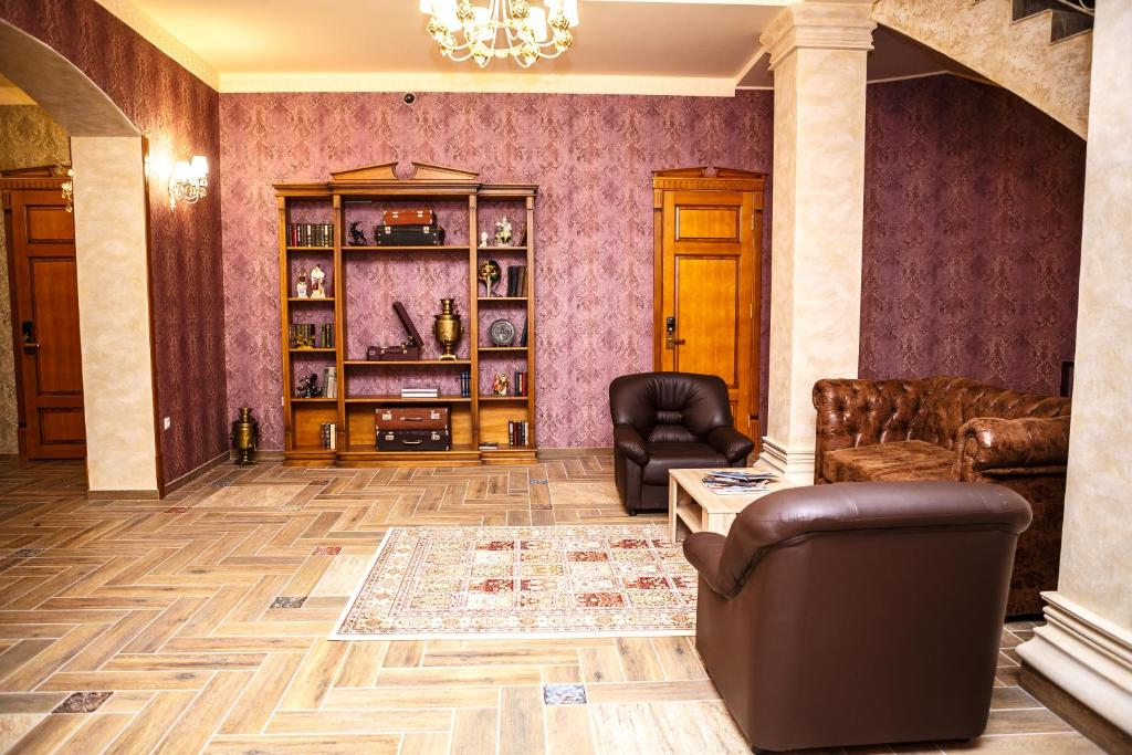 Гостиная зона в Отель «Барин»