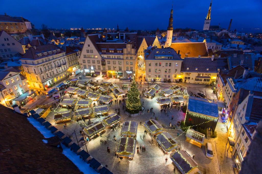 Новогодняя ночь в Таллинне !