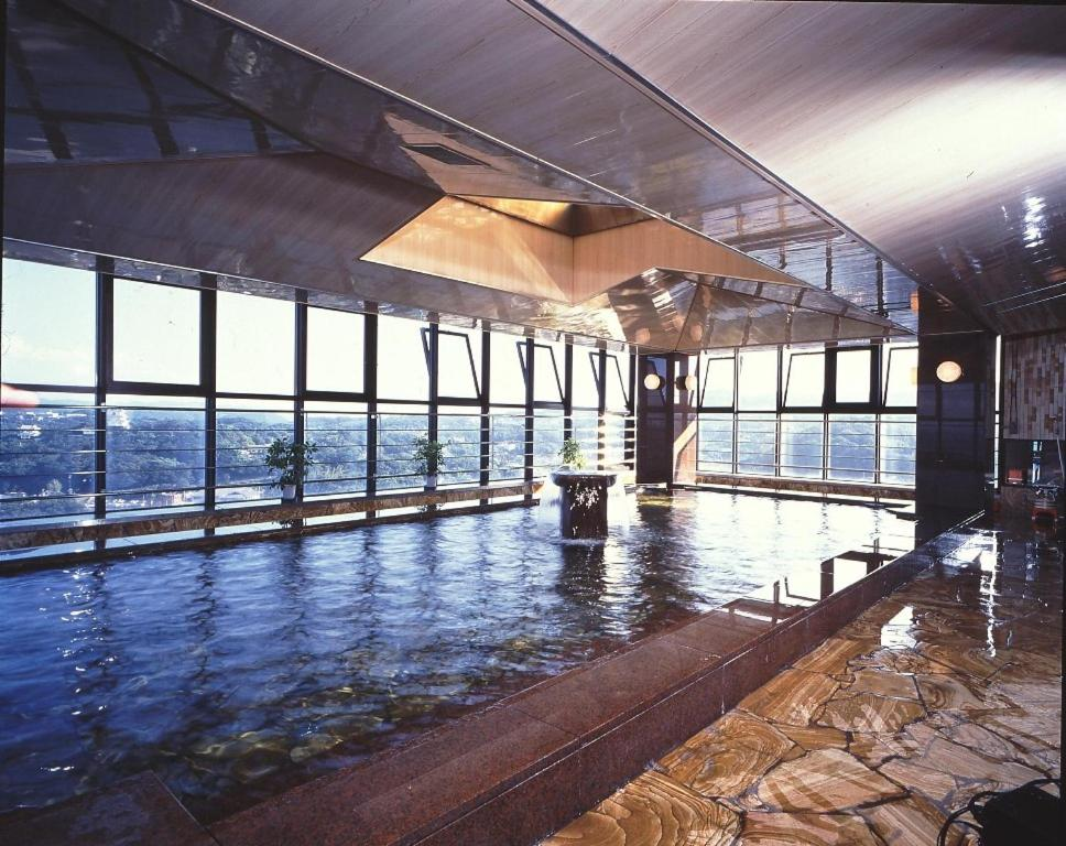 ポイント1.種類豊富で大満足の温泉施設