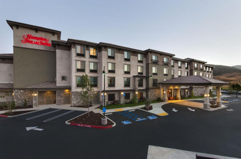 The Hampton Inn & Suites San Luis Obispo.
