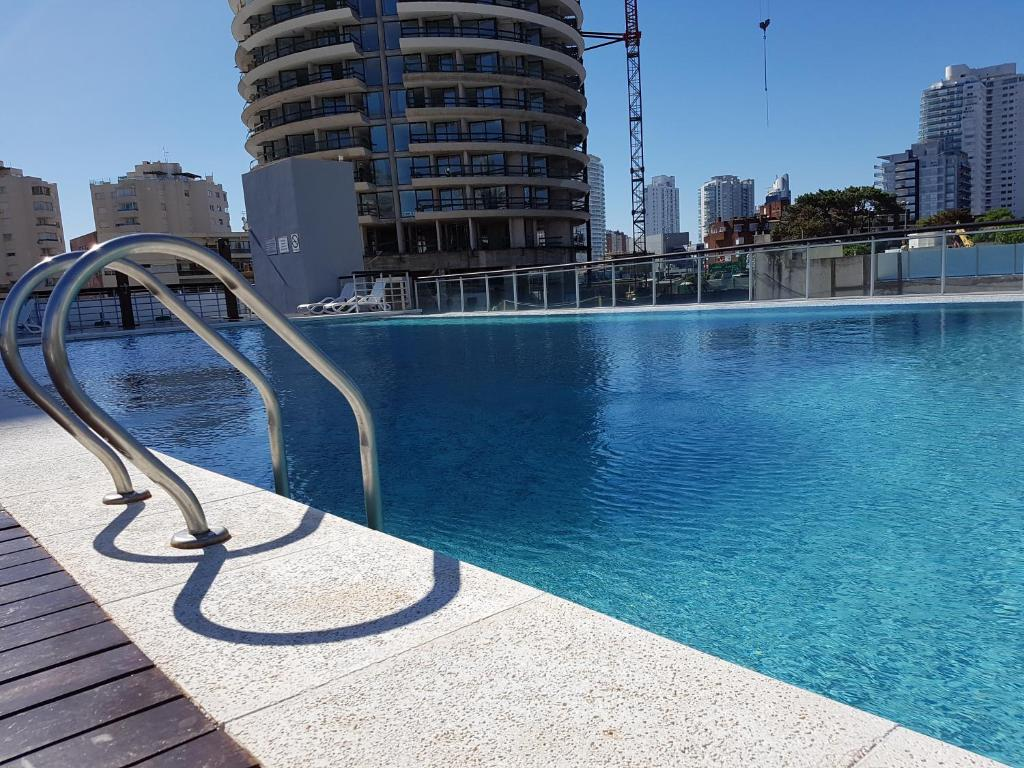 The swimming pool at or near Torre Francia