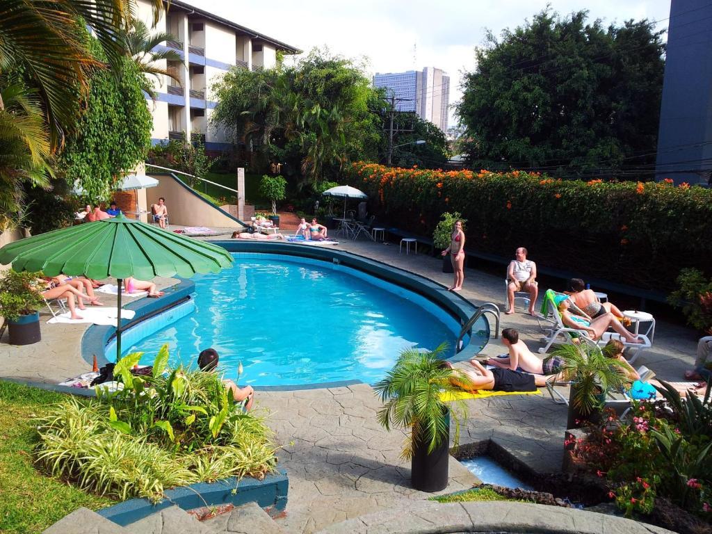 The swimming pool at or near Hotel Villa Tournon