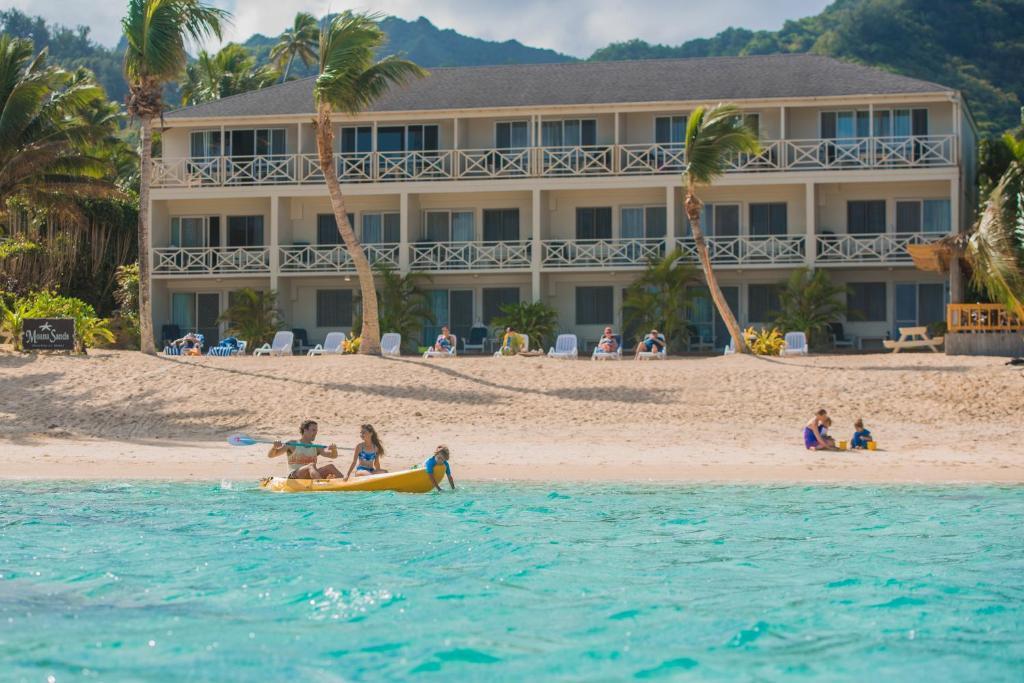 Rooms: Moana Sands Beachfront Hotel, Rarotonga, Cook Islands