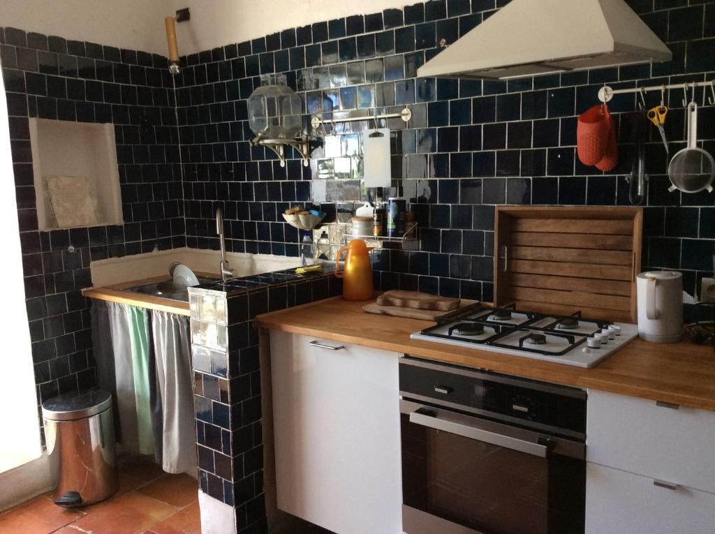 Villa maison presqu 39 le de cassis avec des avis - Cuisine avec presqu ile ...